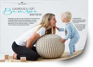 baby article ecobalance lifestyle magazine spring