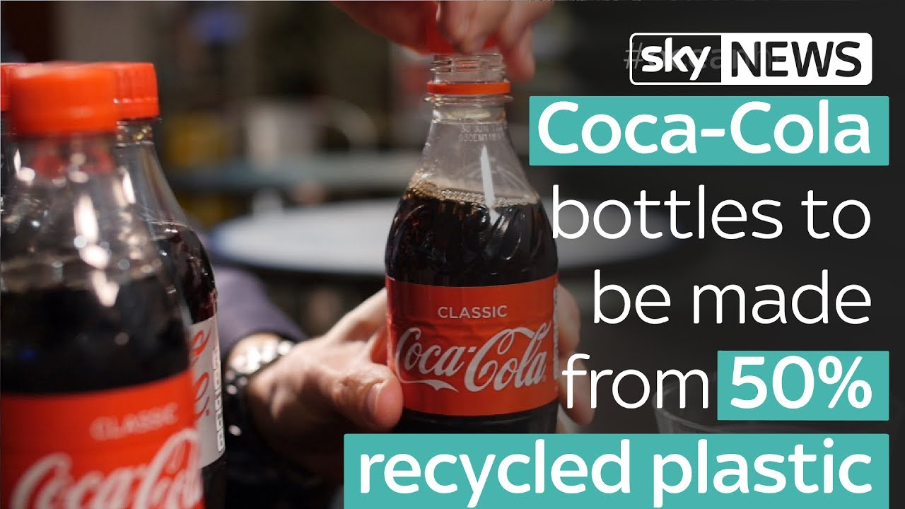 coca cola recycled plasitc bottles eco balance lifestyle