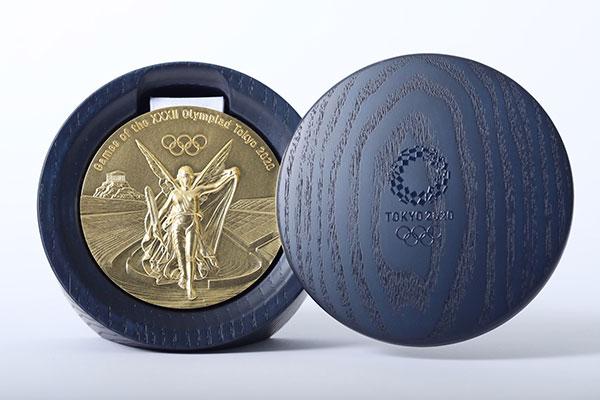 2020 tokyo olympics medal design eco balance lifestyle