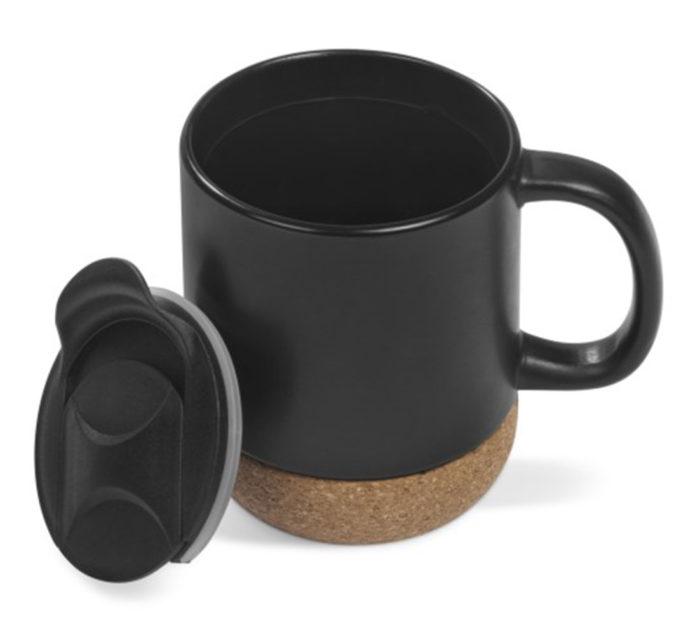 black cork mug eco balance lifestyle