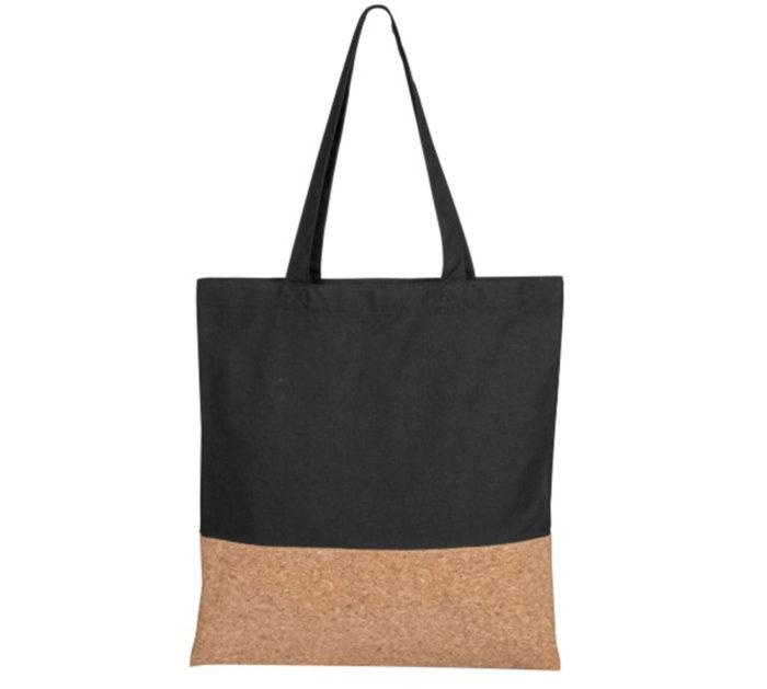 cotton cork fibre shopping bag