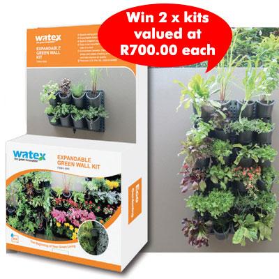 watex expandable garden wall kit
