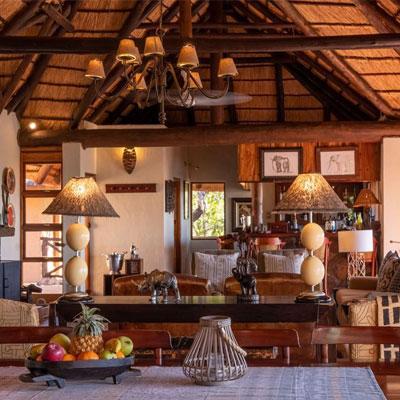 tintswalo family camp welgevonden interior eco balance lifestyle